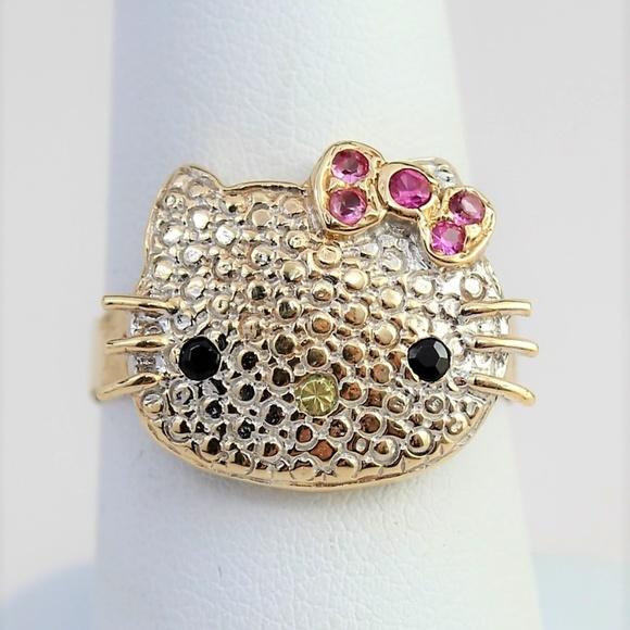 9740ec33e ... Bow Ring 10k Gold. Hello Kitty. M_5cbfa3dc7a8173461428a83c.  M_5cbfa3dc16105de80945ed7a. M_5cbfa455fe19c735e45bb7de.  M_5cbfa3dc8d653d9988dde0ce